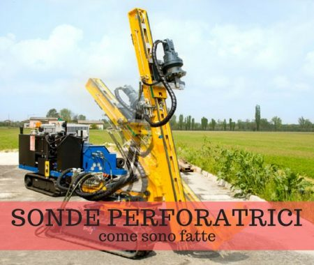 Sonde perforatrici: come vengono usate in cantiere