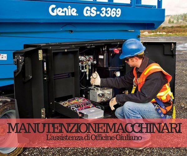 Manutenzione macchinari: l'assistenza di Officine Giuliano