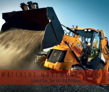 Macchine movimento terra: manovrarle in sicurezza
