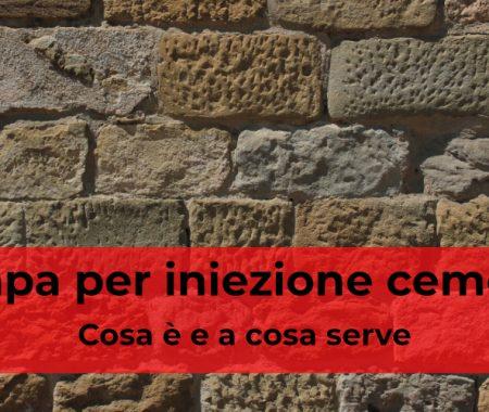 Pompa iniezione cemento: a cosa serve?