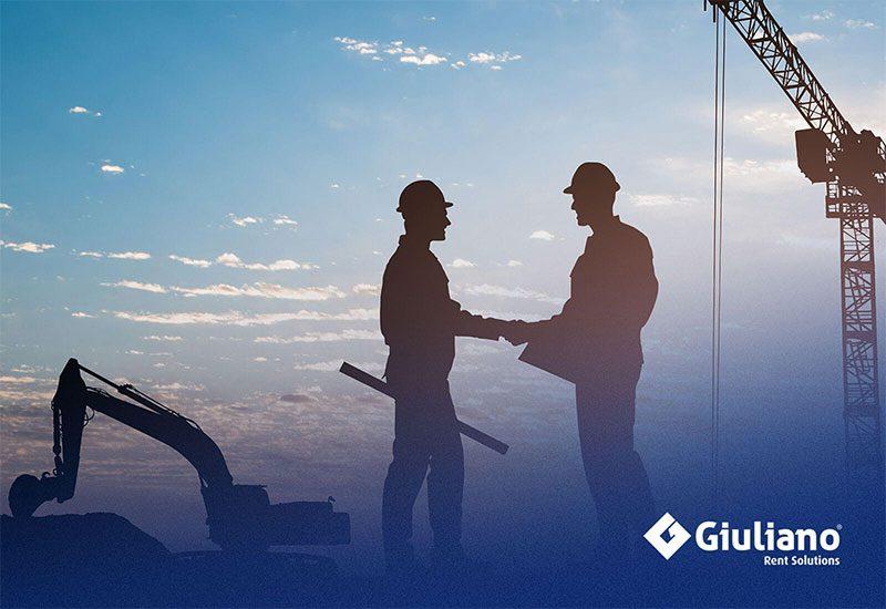 Giuliano Group è partner dei marchi più prestigiosi delle attrezzature edili.