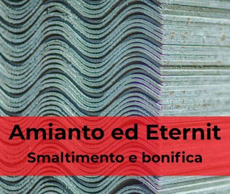 Amianto ed eternit: smaltimento e bonifica