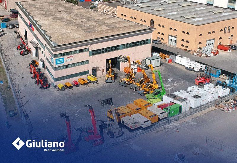 Giuliano Group è in grado di offrirti le soluzioni migliori per il Noleggio.