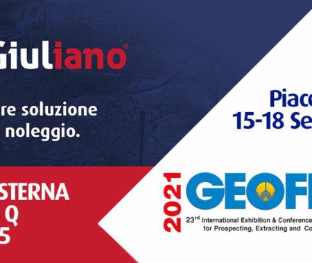Giuliano Group a Geofluid 2021: l'edilizia riparte dal noleggio!